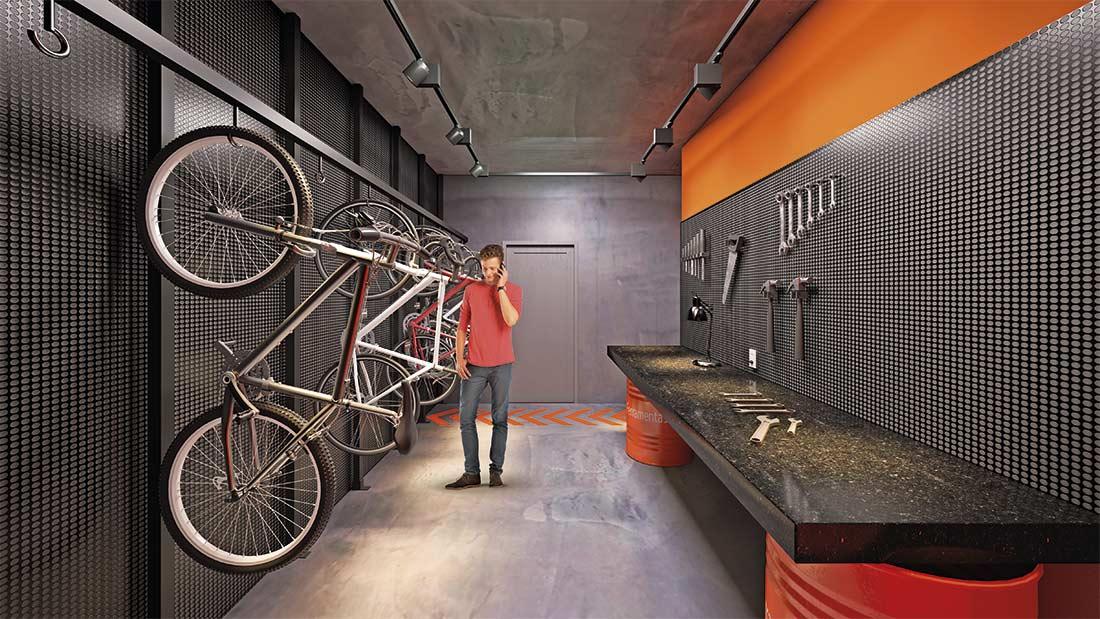 Foto Bicicletario
