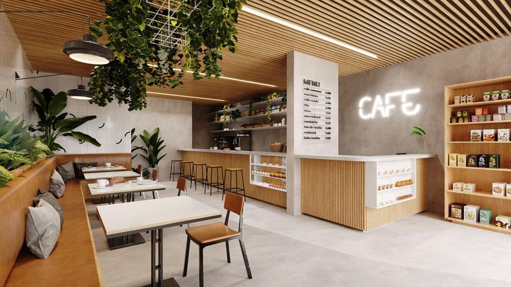 Foto Loja e Cafeteria